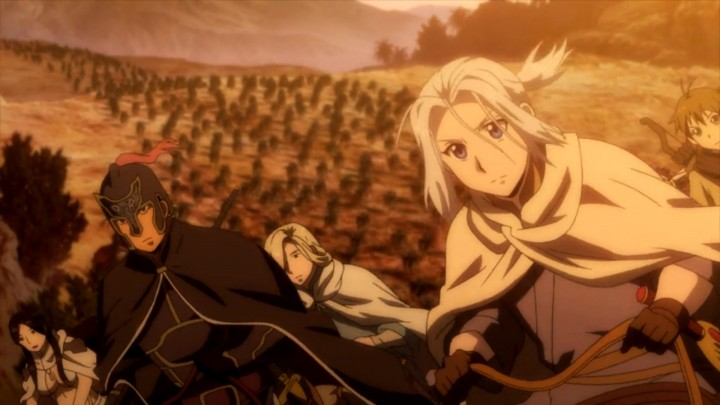 Arslan Senki on-the-run