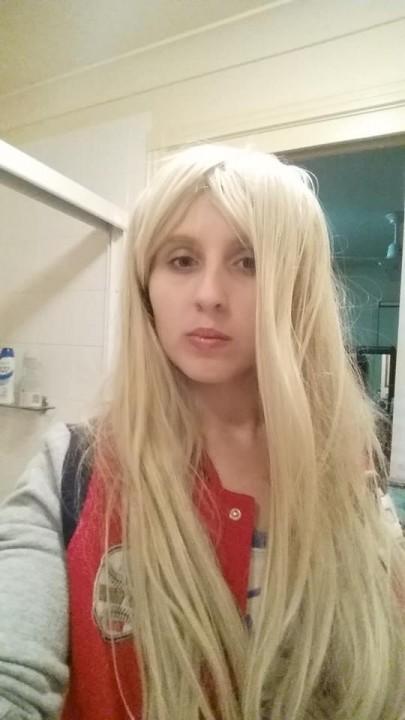 Black Lady cosplay blonde