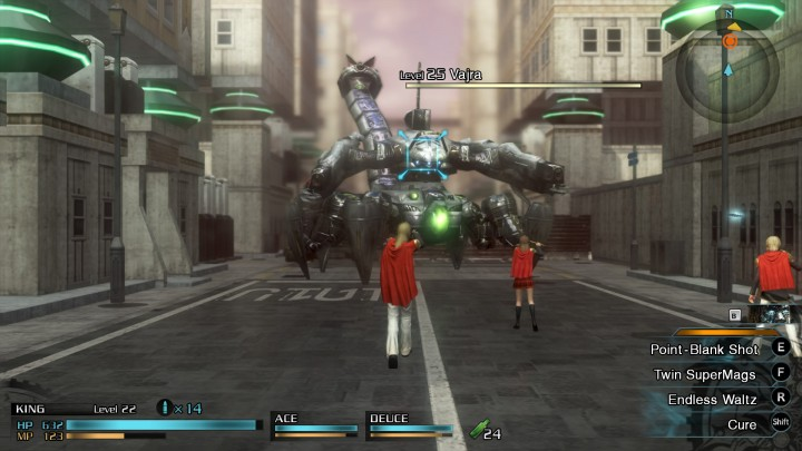 Final Fantasy Type-0 city battle