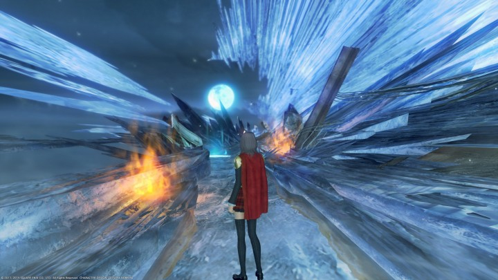 Final Fantasy Type-0 ice dungeon