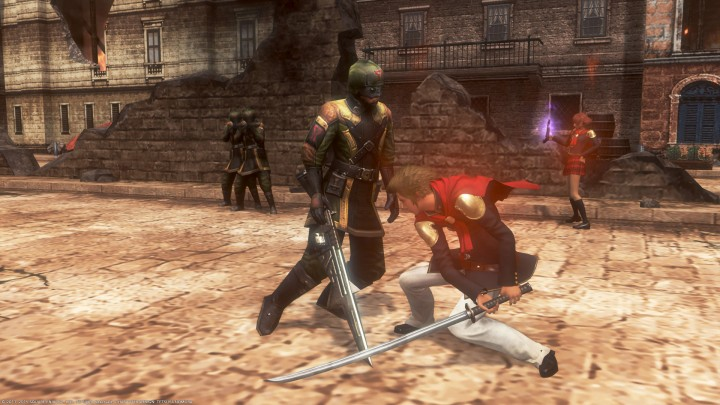 Final Fantasy Type-0 jack