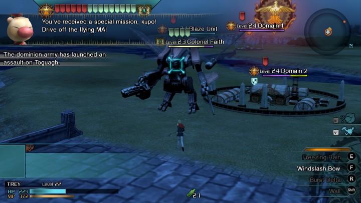 Final Fantasy Type-0 rts boss