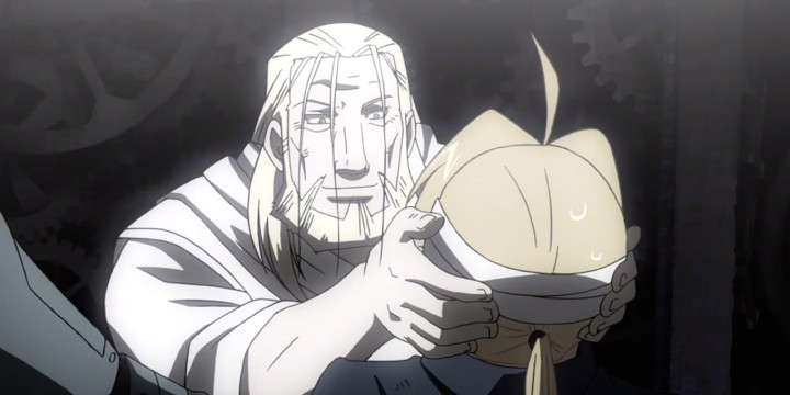 Fullmetal Alchemist Brotherhood Father