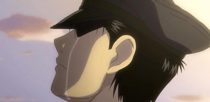 Fullmetal Alchemist Brotherhood Mustang_tears