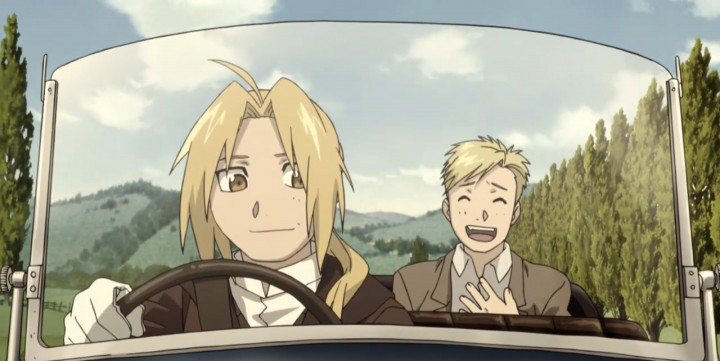 Fullmetal Alchemist Ed-and-Al