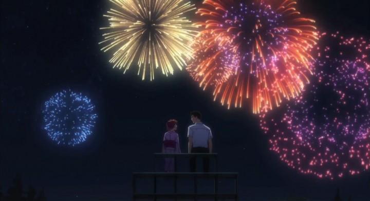 Gekkan Shoujo Nozaki-kun fireworks