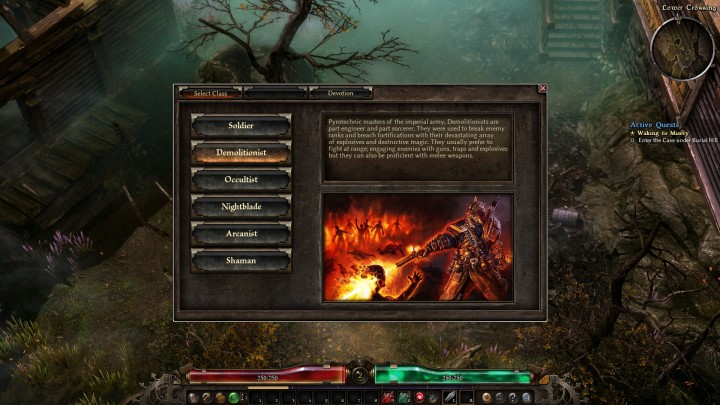 Grim Dawn classes