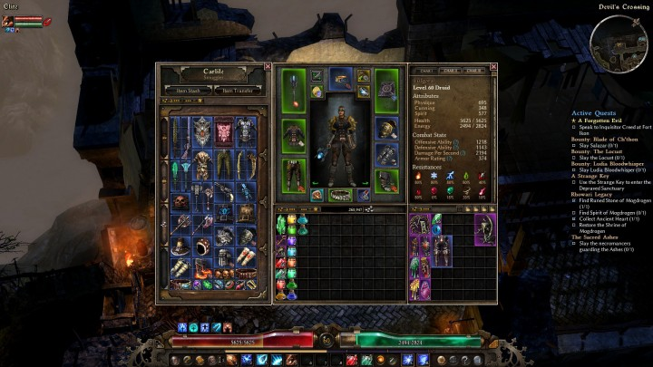 Grim Dawn epic-stash