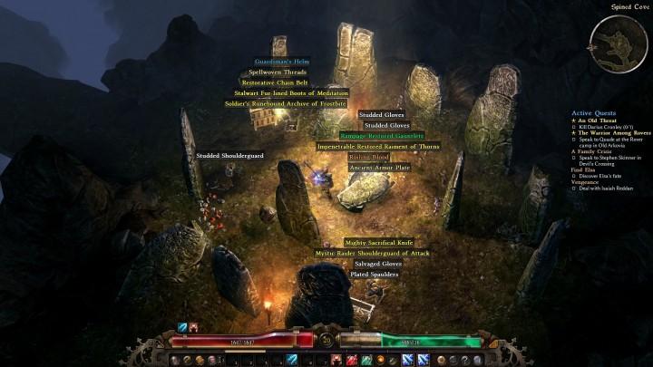 Grim Dawn loot
