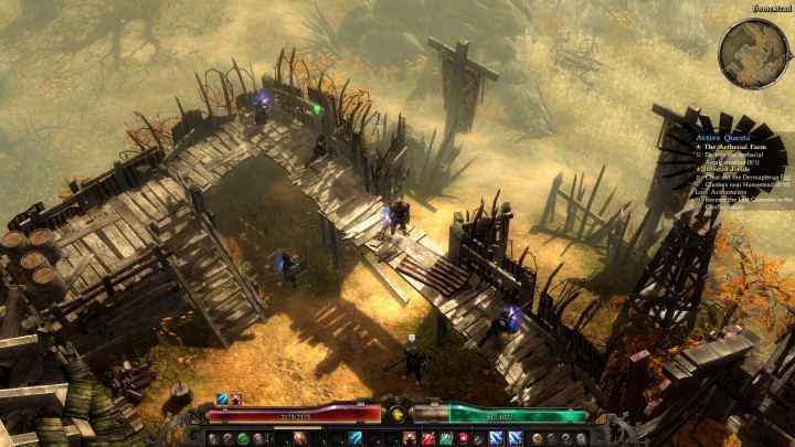 Grim Dawn new-areas