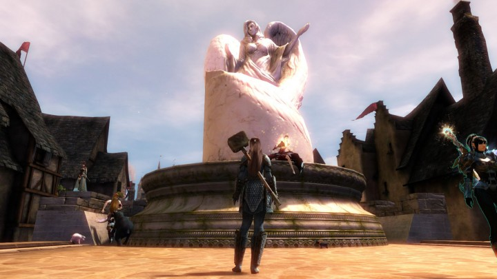 Guild Wars 2 Dwayna Statue