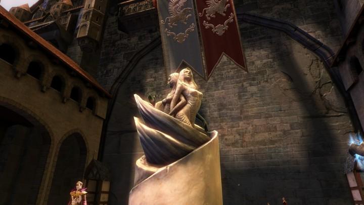Guild Wars 2 Lyssa Statue