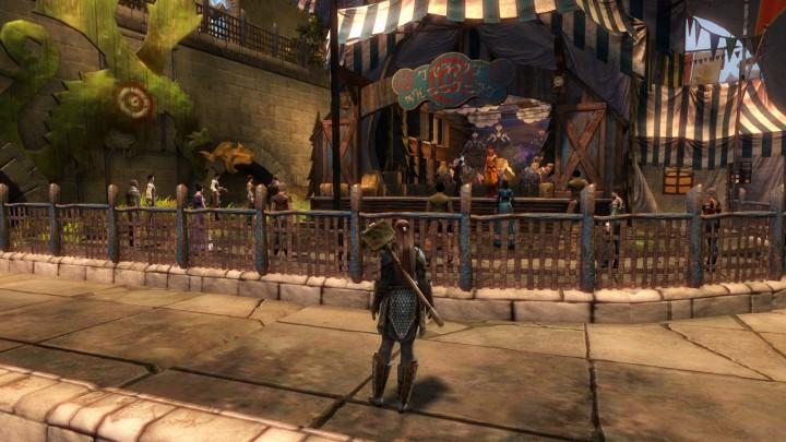 Guild Wars 2 Mina's Target Shooting