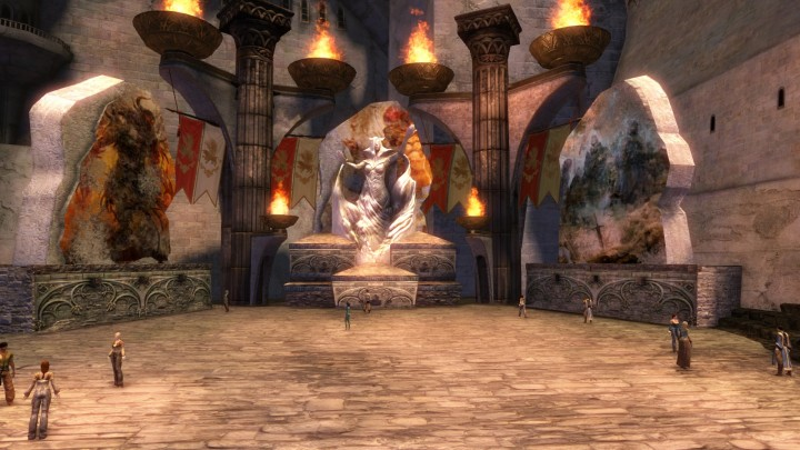 Guild Wars 2 Plaza of Kormir