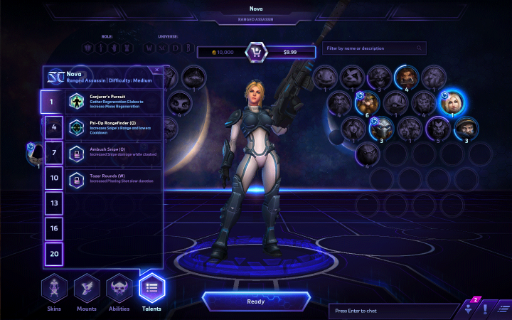 Heroes of the Storm locked talent