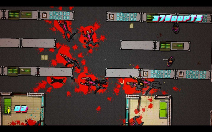 Hotline Miami 2 bloodbath