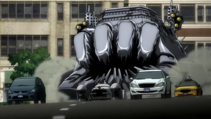 Kekkai Sensen aligura-truck