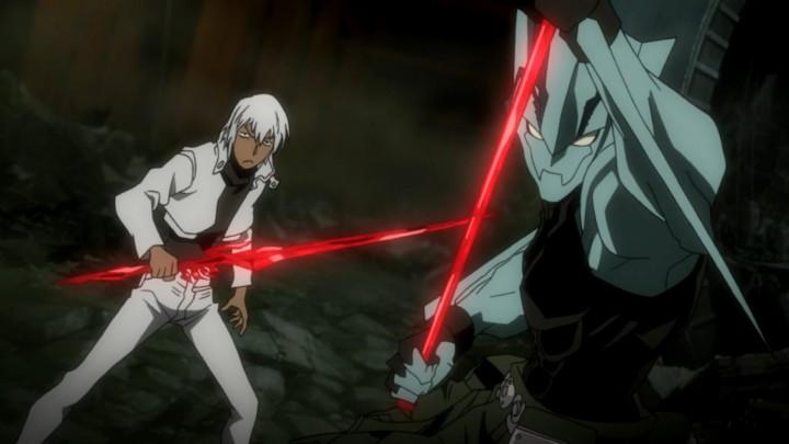Kekkai Sensen zapp-and-zed