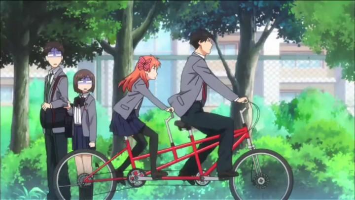 Gekkan Shoujo Nozaki-kun bike