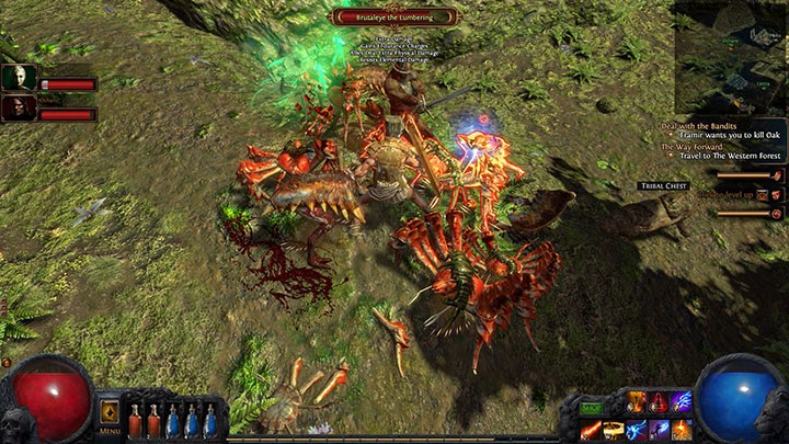 Path of Exile Crabs in the Forest