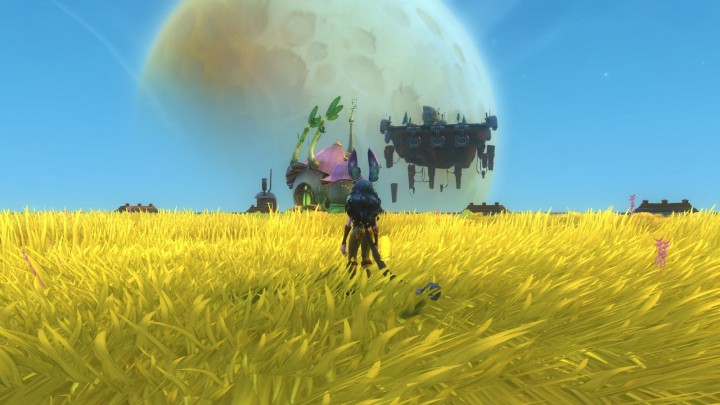 WildStar Floating House