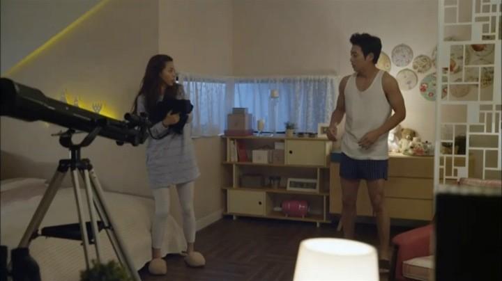 Tae Hee tempts Sara
