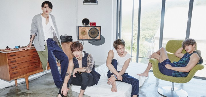 cnblue 2gether album cover