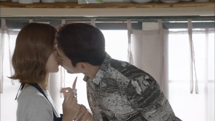 Tae Ha kisses Yeo Reum