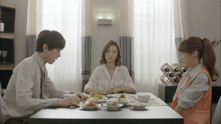 Yeo Reum catches Ha Jin & Ah Rim at breakfast