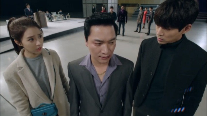 woo jin and da jung strategize