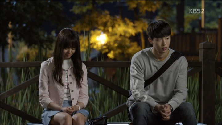 Eun Bi tells Yi An the truth