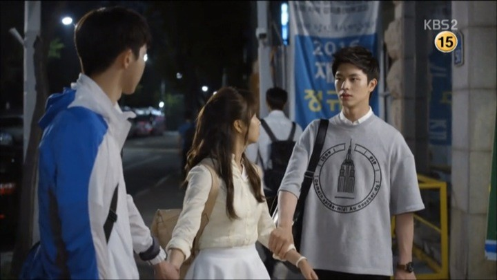 Yi An and Tae Kwang fight over Eun Bi again